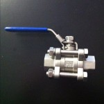 3 Piece Ball Valve used for our home brew pot