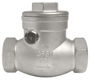 DuraChoice Stainless Steel Swing Check Valves