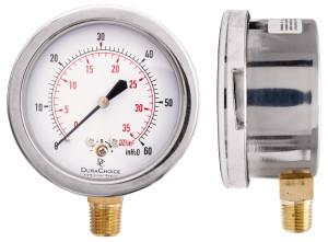 stainless steel capsule gauge