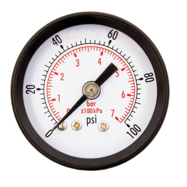 """1-1/2"""" Pressure Gauges (WOG) - 1/8"""" NPT Center Back Mount, OEM"""