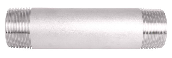 "1"" Diameter Sch. 40 Welded Stainless Steel Nipples"