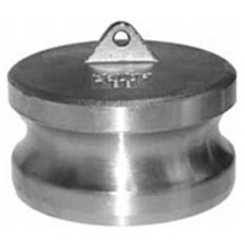 304 Stainless Cam and Groove Couplings - Dust Plug Adapter
