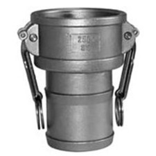 304 Stainless Cam and Groove Couplings - Female Coupler x Hose Shank
