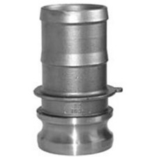 304 Stainless Cam and Groove Couplings - Male Adapter x Hose Shank