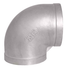 Stainless Steel 90-degree Elbow Fitting