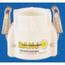 Banjo Polypropylene FDA - Coupler x Female NPT