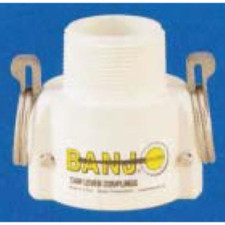 Banjo Polypropylene FDA - Coupler x Male NPT