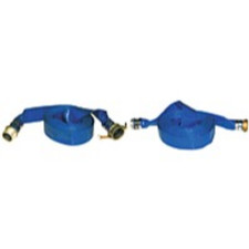 Blue PVC Discharge Hose