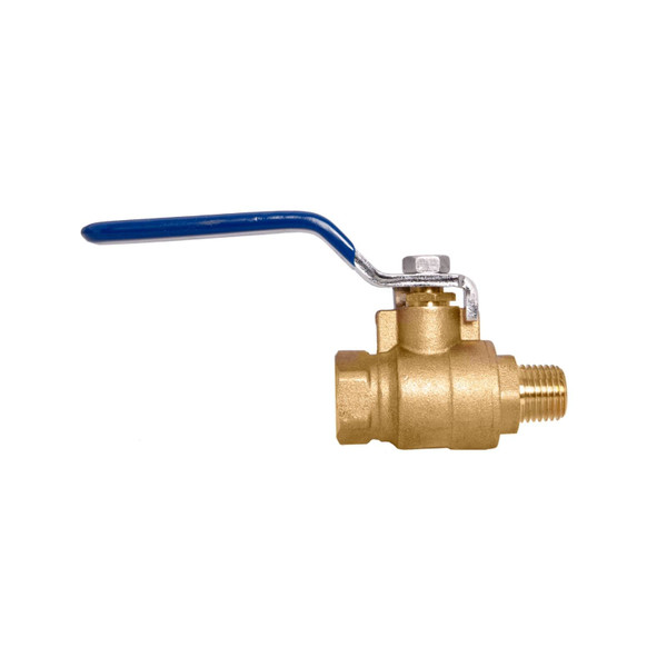 Brass Ball Valve - Full Port, Male x Female NPT Connections, 600WOG
