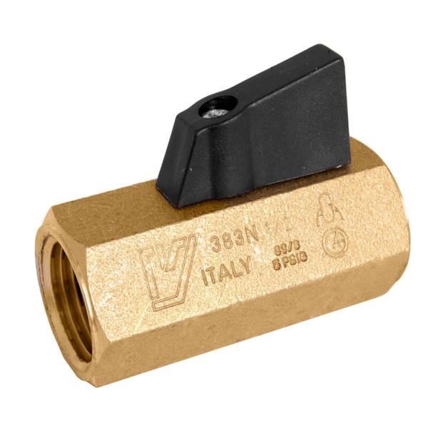 Brass Mini Ball Valve - Made in Italy