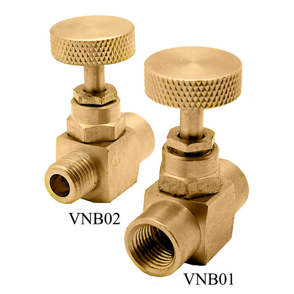 Brass Needle Valves - 600 PSI (WOG)