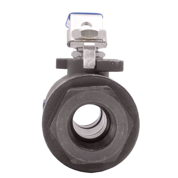 High Pressure Carbon Steel 2-Piece Ball Valve - 6,000 PSI (WOG)