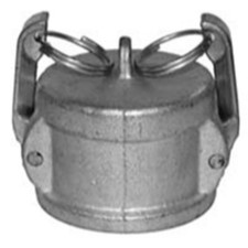 Cast Iron Cam and Groove Couplings - Dust Cap Coupler