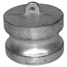 Cast Iron Cam and Groove Couplings - Dust Plug Adapter