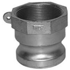 Cast Iron Cam and Groove Couplings - Female NPT x Male Adapter