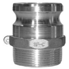 Contractors Cam and Groove Couplings - Male Adapter x Male NPT