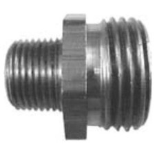 Garden Hose Fitting - Male GHT x Male Pipe