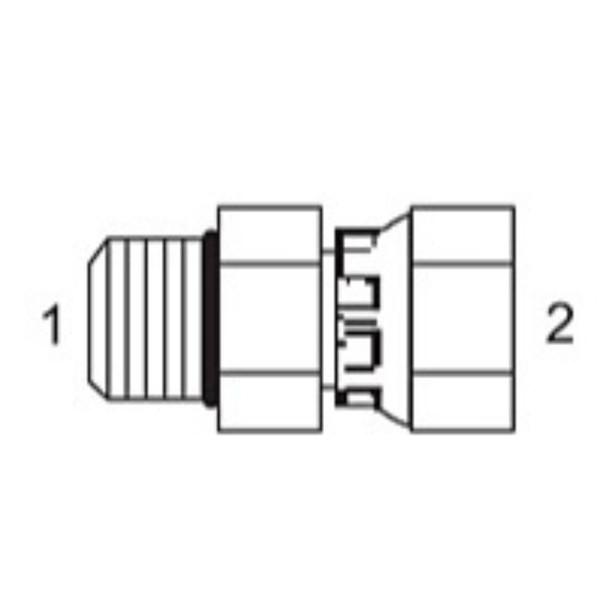 Male O-Ring x Female Pipe Swivel Adapters