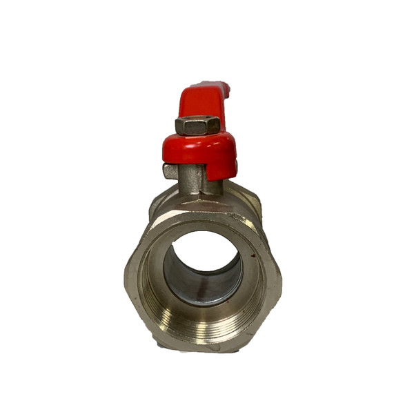 Nickel Plated Brass Ball Valve - Reduced Port 400WOG