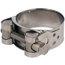 One Bolt Hose Clamps Carbon Steel