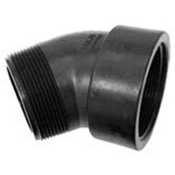 Polypropylene - Street Elbow 45°