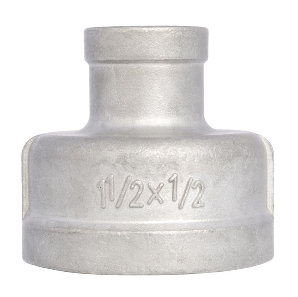 Reduced Socket Banded FxF with NPT threadings. Available in SS316 and SS304.