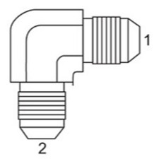 SAE 37 To JIC - 90 Degree Union Elbow