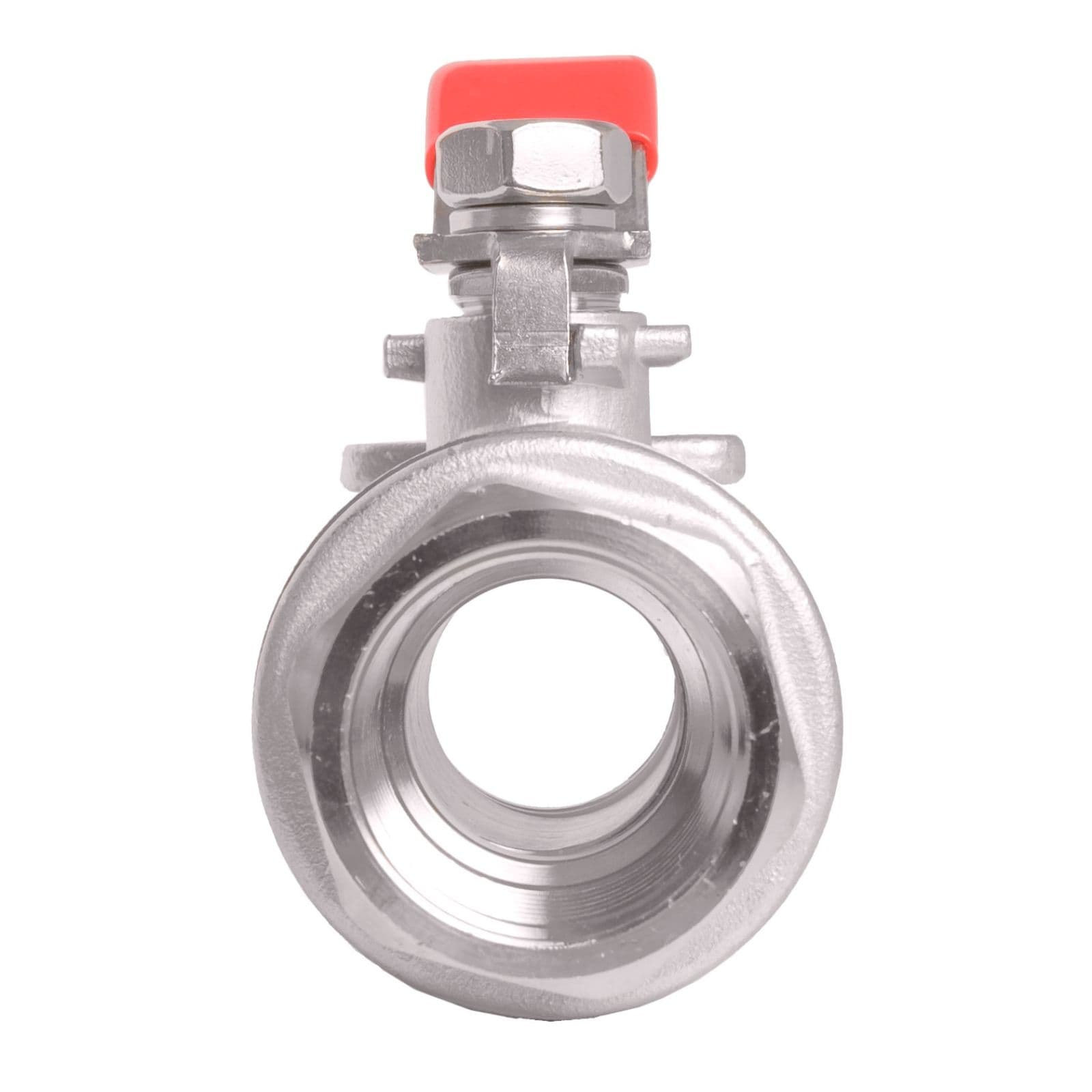 Way Ball Valve Stainless Steel 304 External Thread Type with Vinyl Handle with Card Sleeve Connector