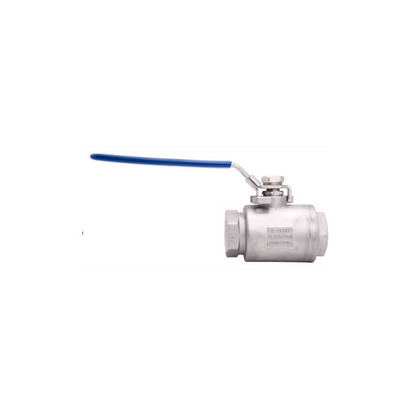 High Pressure Stainless Steel Seal-Welded Full Port Ball Valve - 6,000 PSI (WOG)
