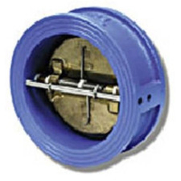 Wafer Check Valve - Double Bronze Disc - NBR Seat